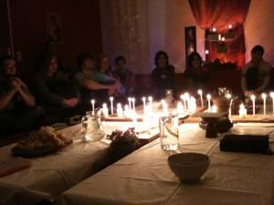 Gründonnerstag - Hausmesse vom letzten Abendmahl in der Jugendkrche Kafarna:um